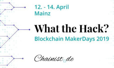 Sustainable Health track at the Blockchain MakerDays 2019